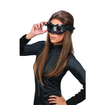 Deluxe Batman Catwoman Eye Mask Goggles - HalloweenCostumes4U.com - Accessories
