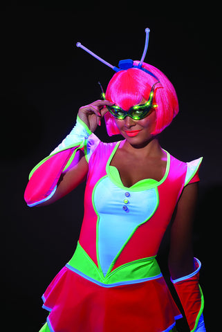 Alien Raver Light Up Glasses - HalloweenCostumes4U.com - Accessories
