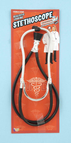 Halloween Costume Deluxe Plastic Stethoscope - HalloweenCostumes4U.com - Accessories