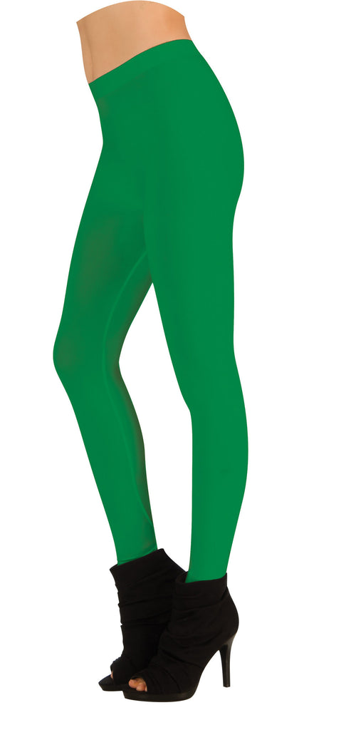 Adults Green Leggings - HalloweenCostumes4U.com - Accessories