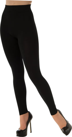 Adults Black Leggings - HalloweenCostumes4U.com - Accessories