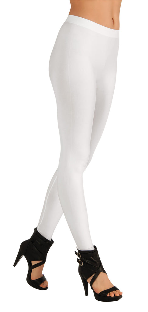 Adults White Leggings - HalloweenCostumes4U.com - Accessories