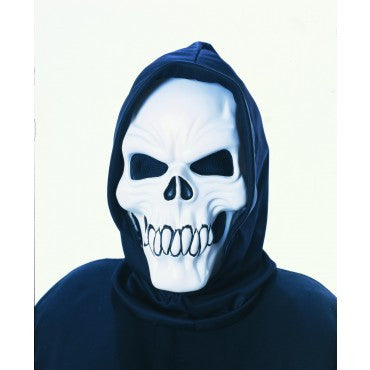 Fanged Skull Mask - HalloweenCostumes4U.com - Accessories