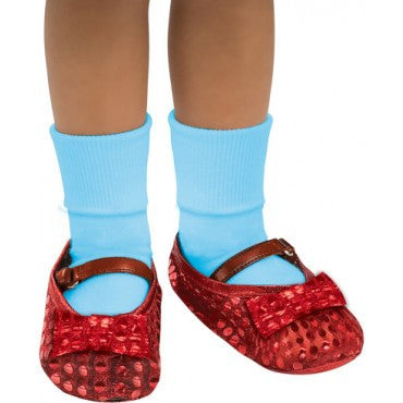 kids Wizard of Oz Dorothy Sequin Shoe Covers - HalloweenCostumes4U.com - Accessories
