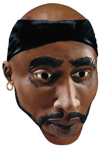2-Pac Thug Life Mask - HalloweenCostumes4U.com - Accessories
