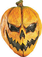 Scary Pumpkin Mask - HalloweenCostumes4U.com - Accessories