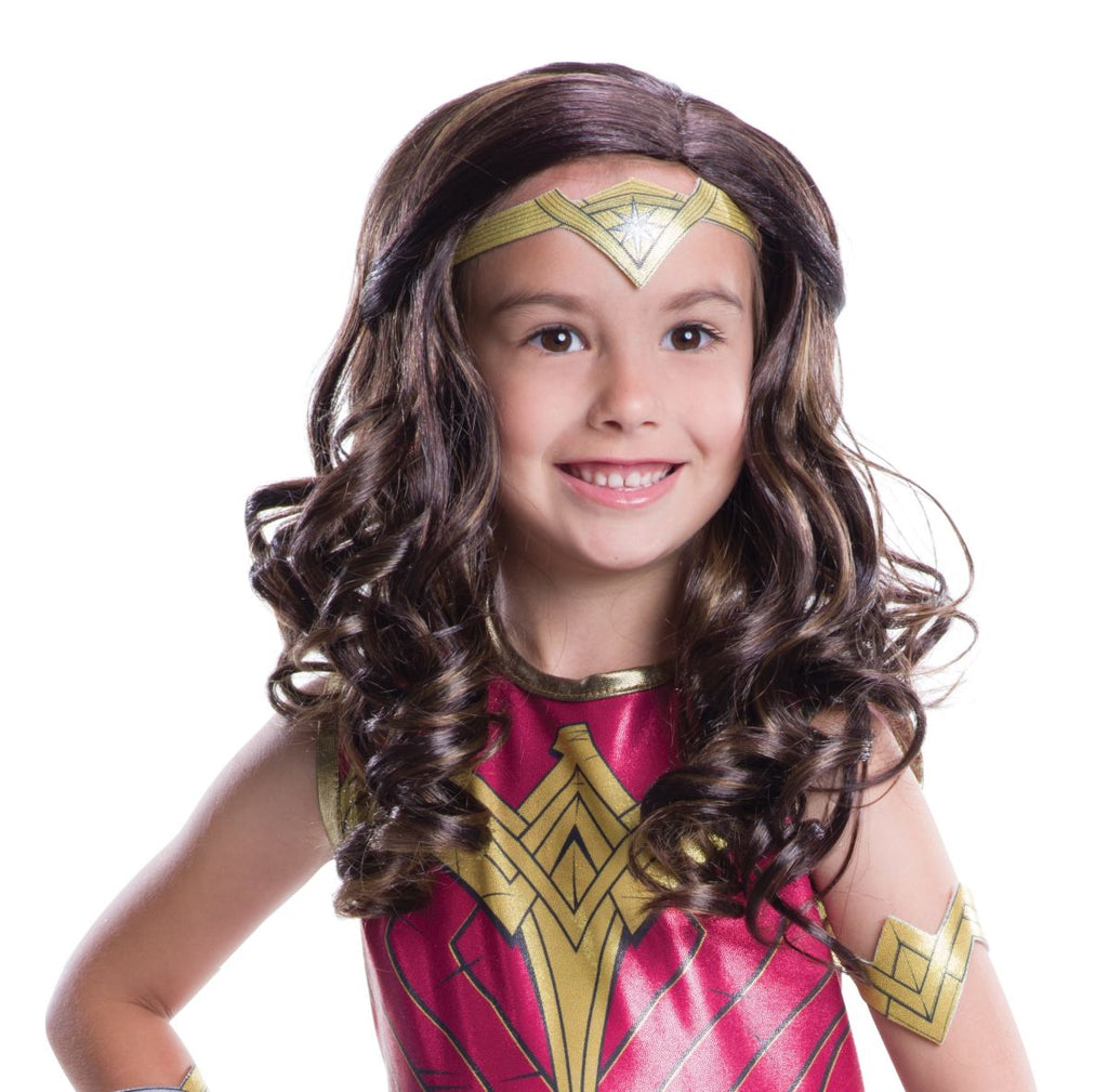 Kids Justice League Wonder Woman Wig