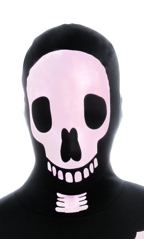 Skeleton Skin Suit Mask - HalloweenCostumes4U.com - Accessories
