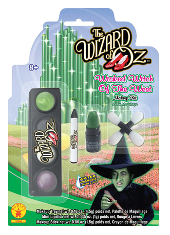 Wizard of Oz Wicked Witch Makeup Kit - HalloweenCostumes4U.com - Accessories