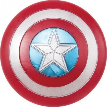 Captain America Deluxe Retro Shield - HalloweenCostumes4U.com - Accessories