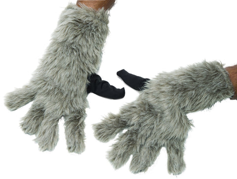Adults Guardians of the Galaxy Rocket Raccoon Gloves - HalloweenCostumes4U.com - Accessories