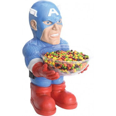 Captain America Candy Bowl Holder - HalloweenCostumes4U.com - Accessories