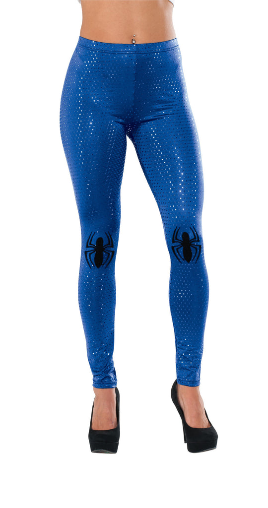 Womens Spider-Girl Leggings with Sequins
