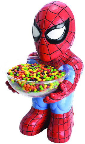 Spider-Man Candy Bowl Holder - HalloweenCostumes4U.com - Decorations