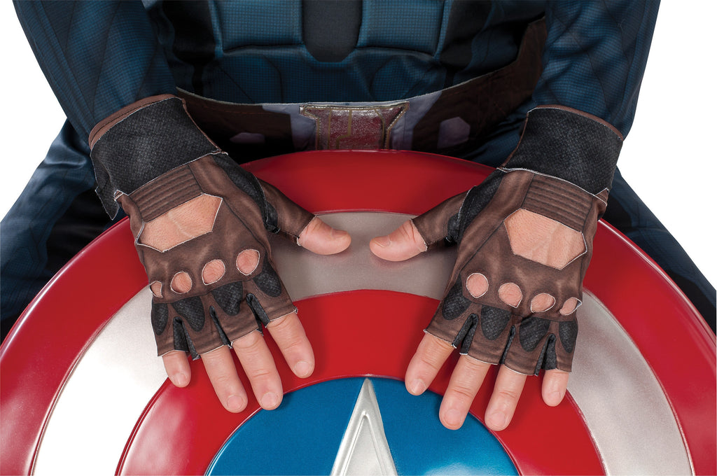 Stealth Captain America Gloves