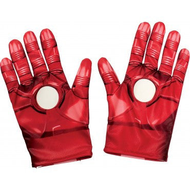 Kids Iron Man Gloves - HalloweenCostumes4U.com - Accessories