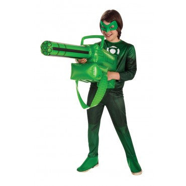 Green Lantern Inflatable Gatling Gun - HalloweenCostumes4U.com - Accessories