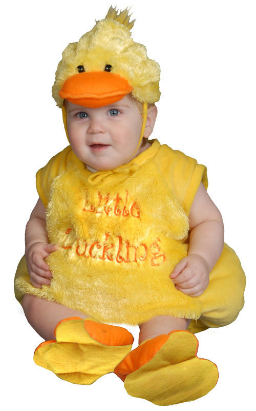 Infants Plush Duckling Costume - HalloweenCostumes4U.com - Infant & Toddler Costumes