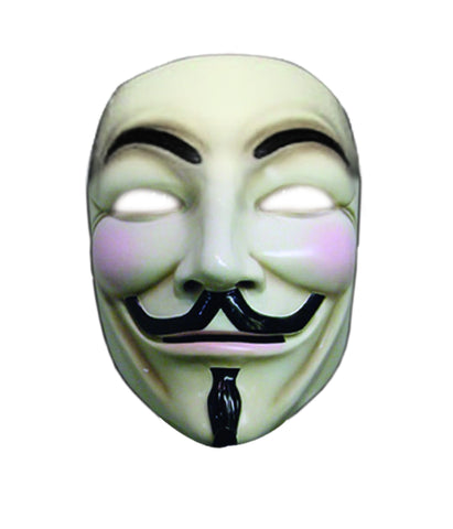 V for Vendetta Deluxe Mask - HalloweenCostumes4U.com - Accessories