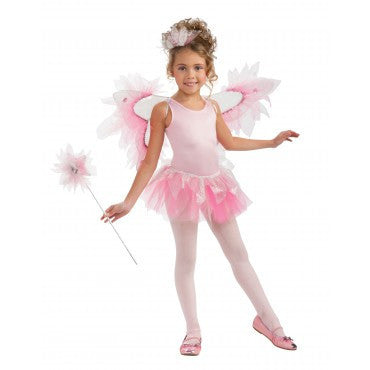 Girls Pink Fairy Accessory Kit - HalloweenCostumes4U.com - Accessories