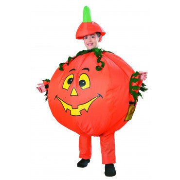 Boys Inflatable Pumpkin Costume - HalloweenCostumes4U.com - Kids Costumes