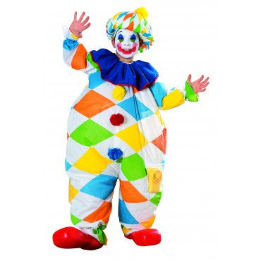 Kids Inflatable Clown Costume - HalloweenCostumes4U.com - Kids Costumes