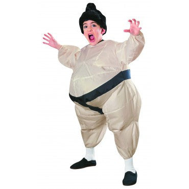 Boys Inflatable Sumo Wrestler Costume - HalloweenCostumes4U.com - Kids Costumes