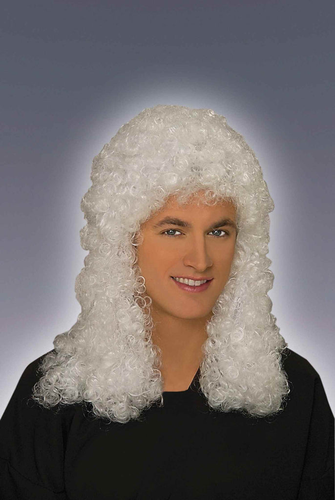Judge Wigs Halloween Costume Wigs - HalloweenCostumes4U.com - Accessories