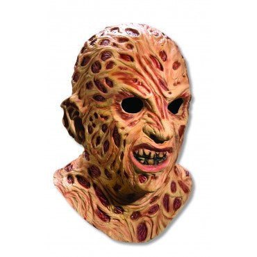 Nightmare on Elm Street Deluxe Freddy Krueger Mask - HalloweenCostumes4U.com - Accessories