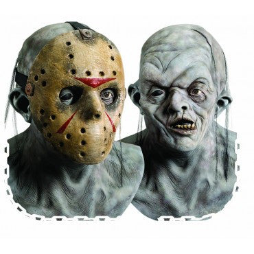 Friday the 13th Deluxe Jason Mask - HalloweenCostumes4U.com - Accessories