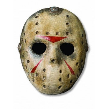 Friday the 13th Jason Voorhees Hockey Mask - HalloweenCostumes4U.com - Accessories