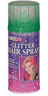 Glitter Hair Spray - Various Colors - HalloweenCostumes4U.com - Accessories - 4