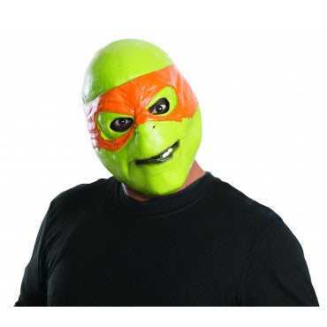 Ninja Turtles Michelangelo Mask - HalloweenCostumes4U.com - Accessories