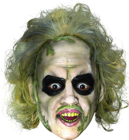 Beetlejuice Mask with Hair - HalloweenCostumes4U.com - Accessories