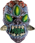 Kids Gnarled Alien Invader Mask - HalloweenCostumes4U.com - Accessories