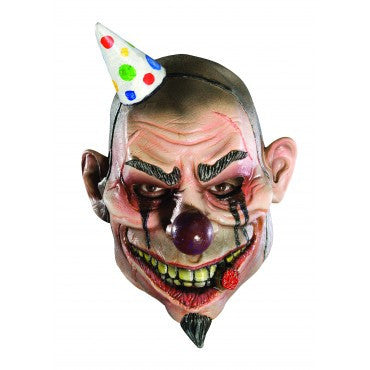 Kids Boozo the Bad Clown Mask - HalloweenCostumes4U.com - Accessories