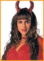 Sequin Devil Horns - HalloweenCostumes4U.com - Accessories