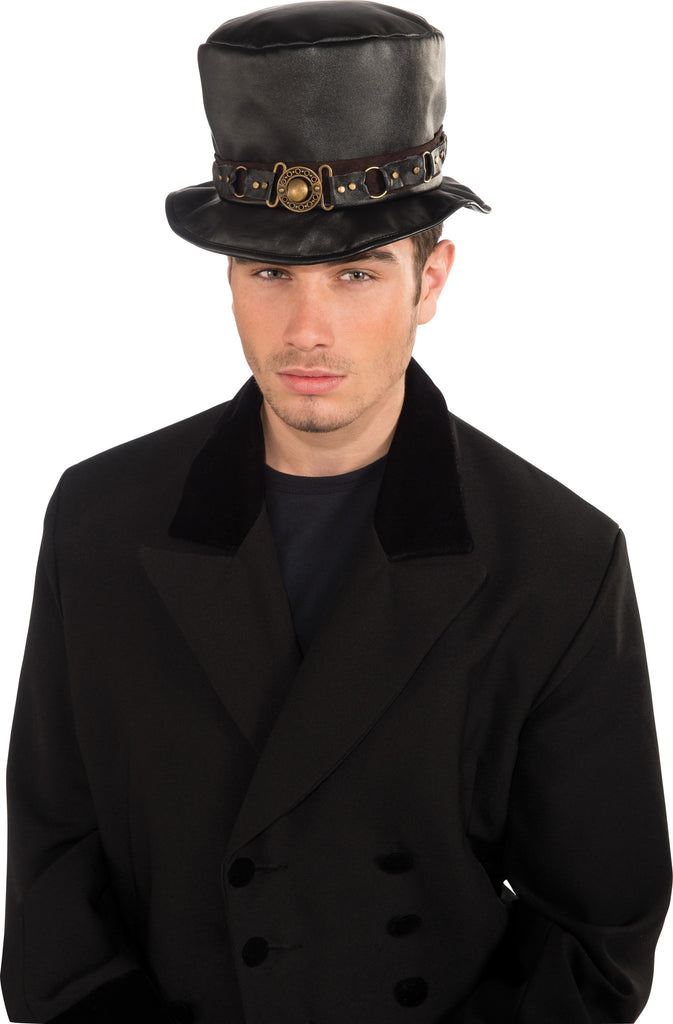 Belted Steam Punk Hat - HalloweenCostumes4U.com - Accessories