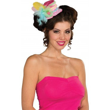 Candy Shop Strawberry Mini Hat - HalloweenCostumes4U.com - Accessories