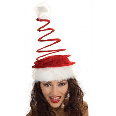 Coil Santa Hat - HalloweenCostumes4U.com - Accessories