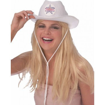 Dallas Cowboys Cheerleader Hat - HalloweenCostumes4U.com - Accessories