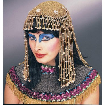 Cleopatra Mesh Headpiece - HalloweenCostumes4U.com - Accessories
