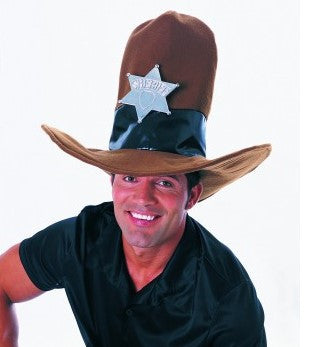 Brown Oversized Cowboy Hat - HalloweenCostumes4U.com - Accessories