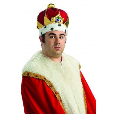 Deluxe Royal King's Crown - HalloweenCostumes4U.com - Accessories