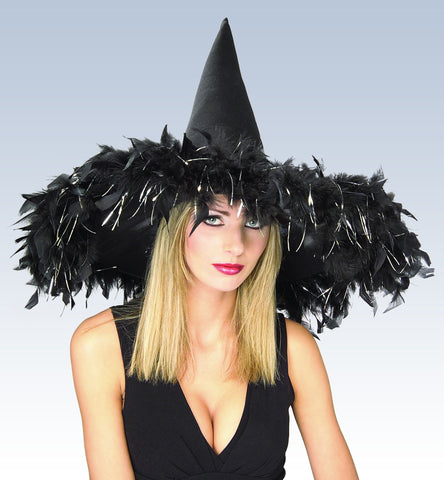 Black Witch Hat - HalloweenCostumes4U.com - Accessories