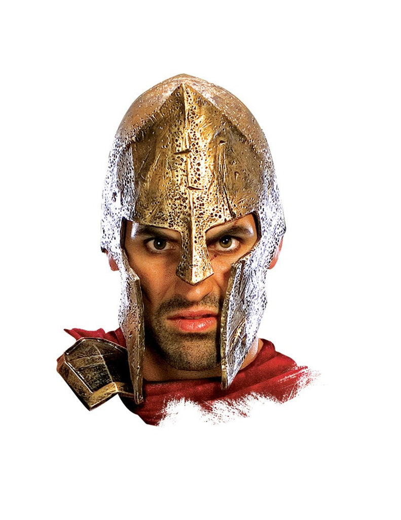 300 Movie Deluxe Spartan Helmet - HalloweenCostumes4U.com - Accessories