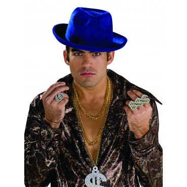 Pimp Hat - Various Colors - HalloweenCostumes4U.com - Accessories - 2