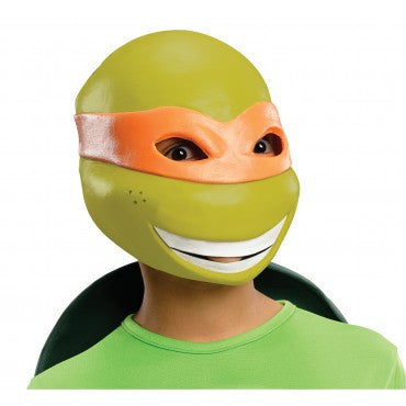 Boys Ninja Turtles Michelangelo Mask - HalloweenCostumes4U.com - Accessories