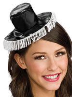 Black and White Spanish Mini Hat - HalloweenCostumes4U.com - Accessories