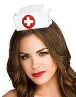 Mini Nurse Hat - HalloweenCostumes4U.com - Accessories